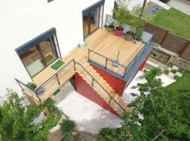 Terrasse sur Pilotis Bois – Mélèze – 19m²