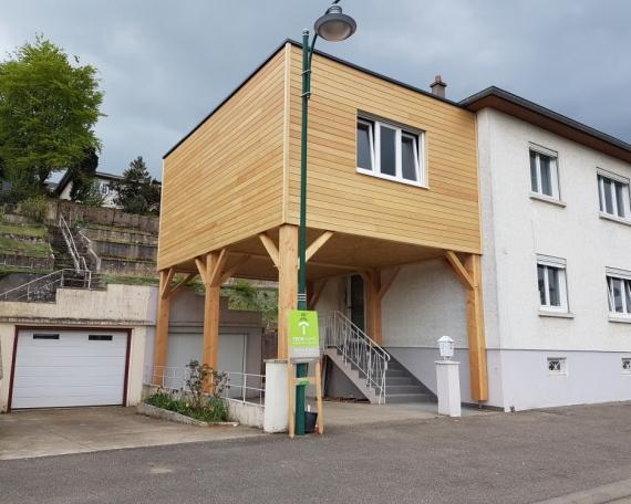 Extension sur Pilotis – 35m²
