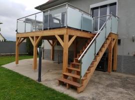 Terrasse sur Pilotis Bois – Cumaru – 17m²