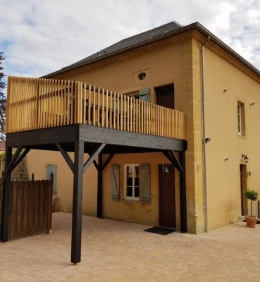 Terrasse sur Pilotis Bois – Cumaru – 20m²