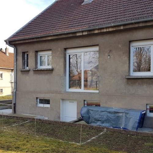 Tecnhome - Terrasse sur pilotis - Bois - IPE -20m² - Talange - Thionville - Metz - Moselle - Lorraine - Luxembourg