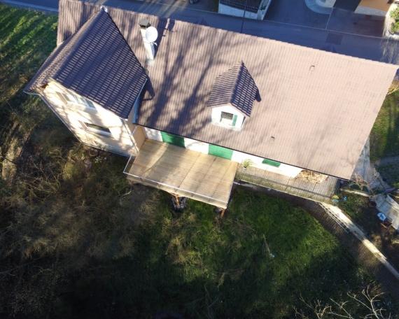 Terrasse sur Pilotis Bois – Mélèze – 26m²
