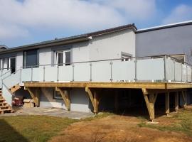 Terrasse sur Pilotis Bois – Mélèze – 46m²