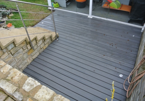 Terrasse composite – 15m2 – Hautcharage – Luxembourg