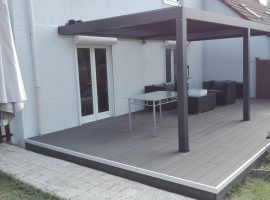 Terrasse Bois Composite – 32 m2