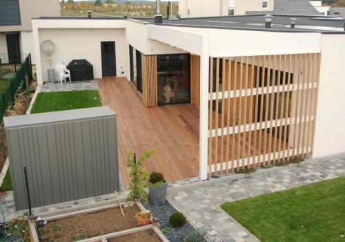 terrasse bois exotique garapa 70 m2 terrasses terrasse bois exotique