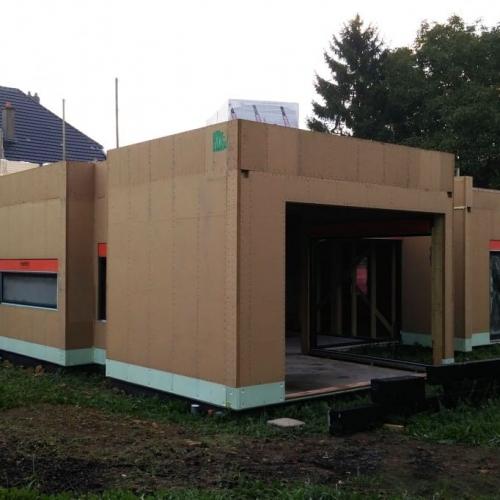 maison construction ossature bois Briey - RDC - 150m2-1