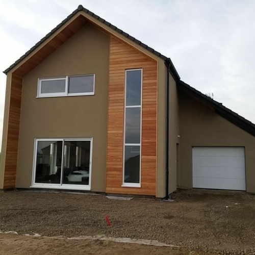maison construction ossature bois Cattenom R+1-147m2