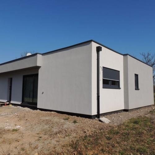maison construction ossature bois Knutange RDC-140m2