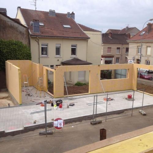 maison construction ossature bois Rehon R+1-140m2