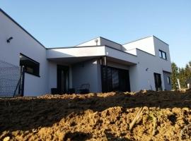 Vigy – R+1 – 155m2 – Maison ossature bois
