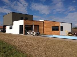 Chailly les Ennery – R+1 160m2 – Maison ossature bois