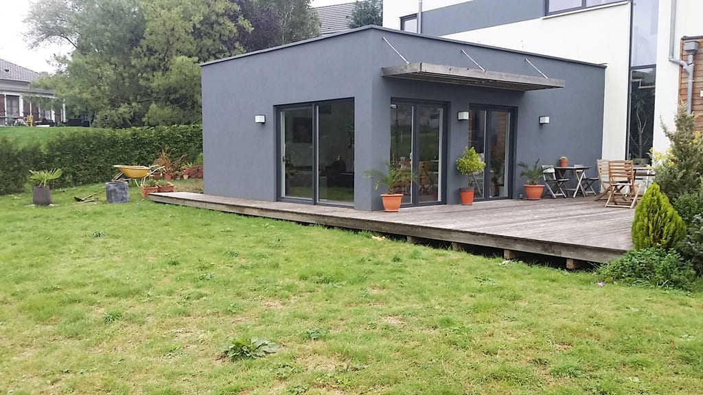 extension terrasse bois moselle