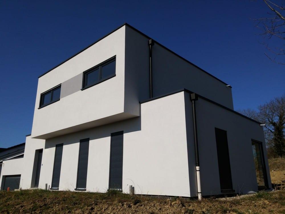 maison construction ossature bois Beyren-les-Sierck - R+1 - 142m2-1