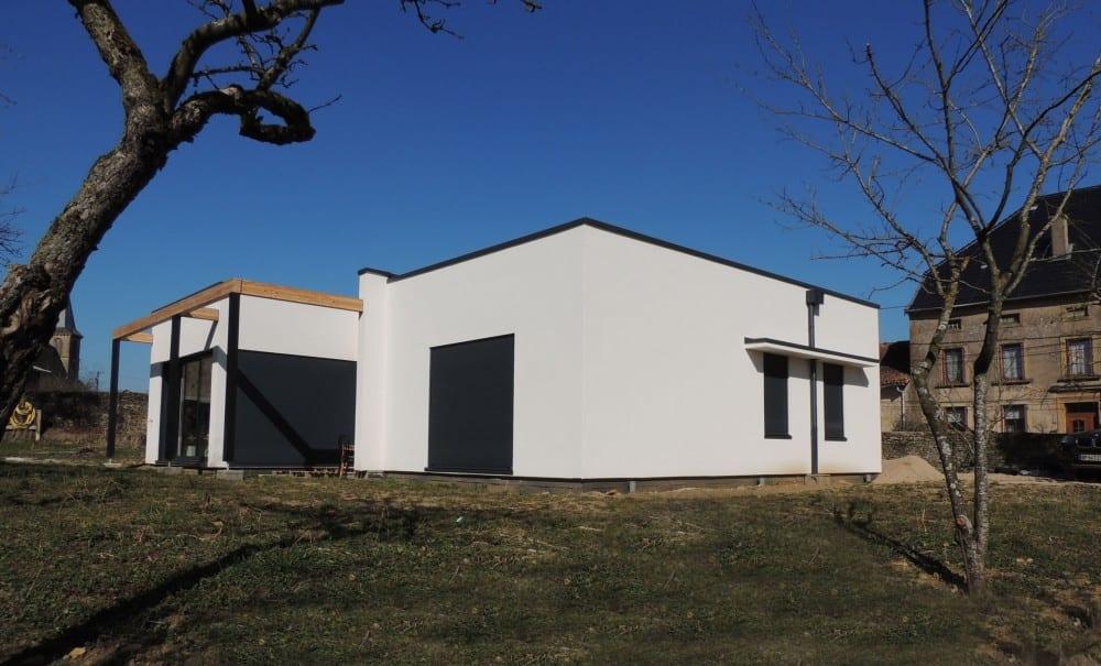 maison construction ossature bois Briey - RDC - 150m2