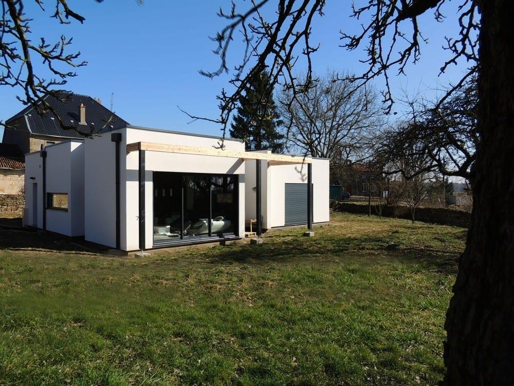Briey rdc 150m2 maison ossature bois for Maison 150m2 prix