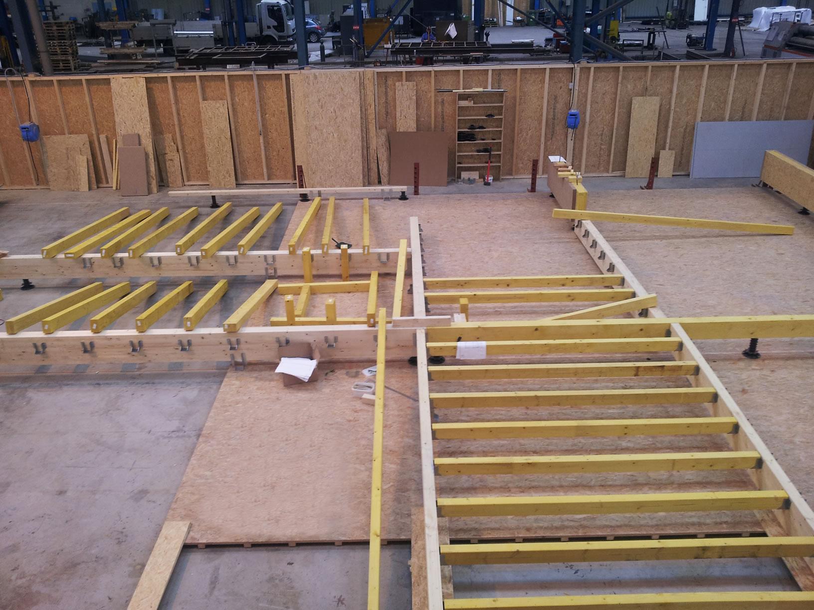 Knutange rdc 150 m2 maison ossature bois for Construction ossature bois