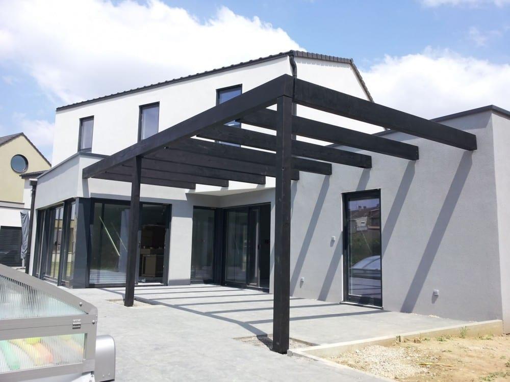 maison construction ossature bois Thionville R+1-145m2