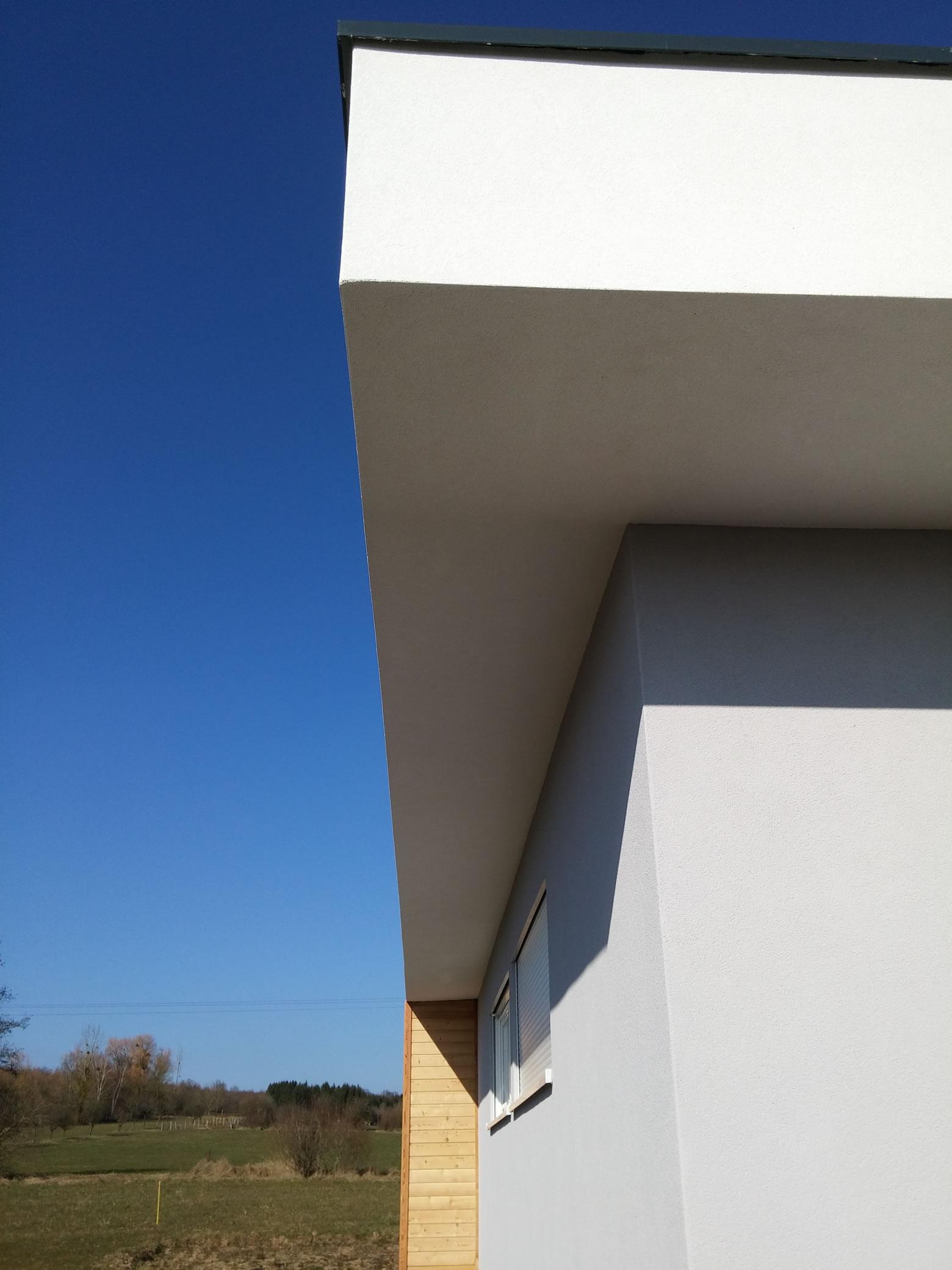 Finest prix maison bois m waldwisse rdc m maison ossature for Cout construction maison 150m2