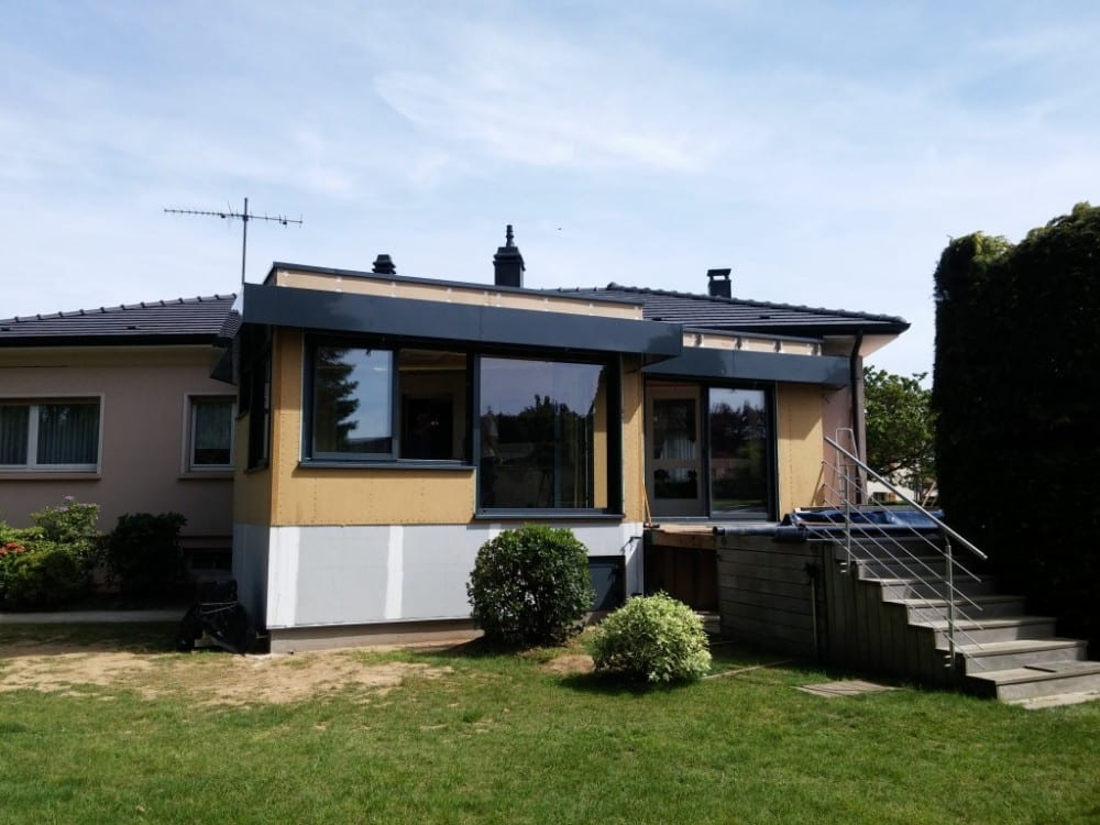 Marly - 35m2 - Extension - ossature bois