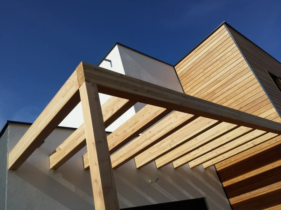 Petite Hettange maison construction ossature bois - R+1 - 145m2