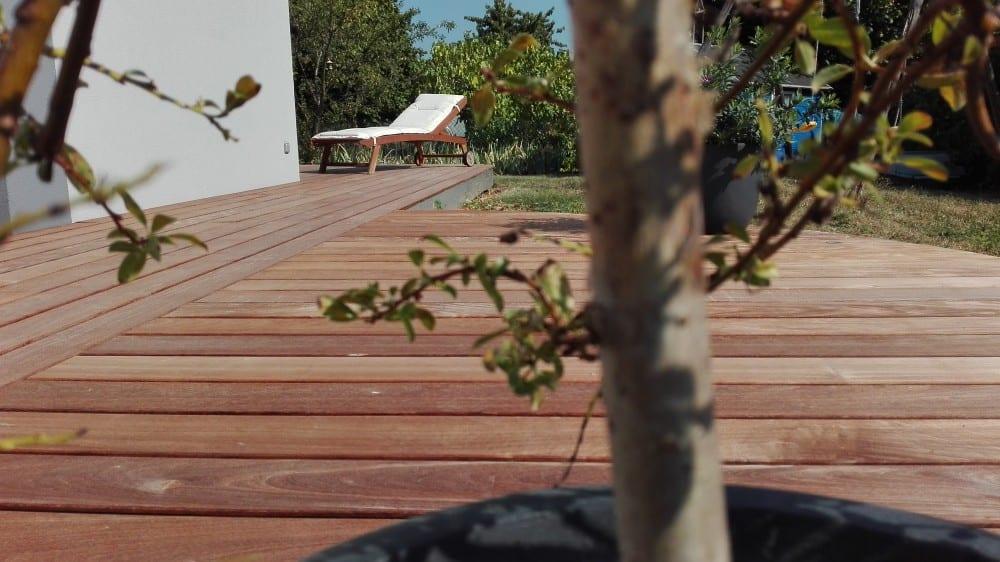 Terrasse Bois Exotique Ipé -50 m2 – Thionville