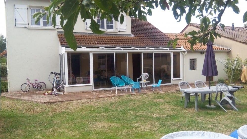 tecnhome-extension bardage composite ossature bois - terrasse gres cerame-40-m2-thionville - moselle-lorraine