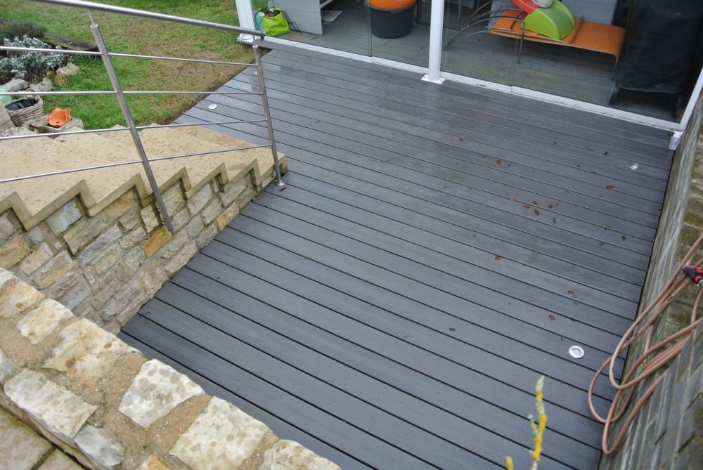 Terrasse Composite - 15M2 - Hautcharage - Luxembourg