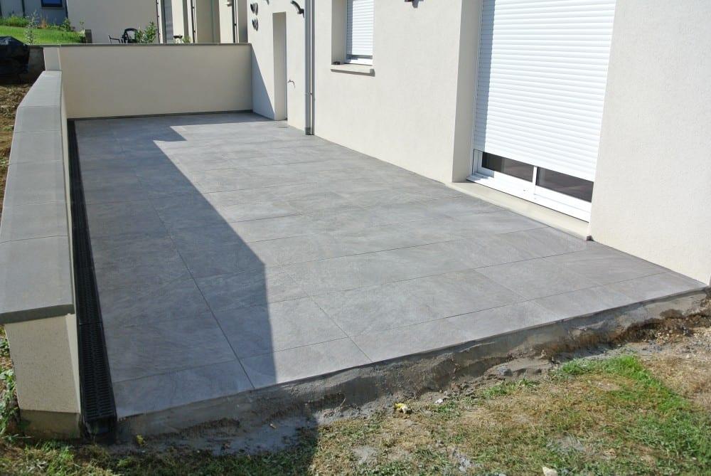 Terrasse gr s c rame 42m2 thionville moselle for Projet terrasse en 3d