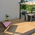 Tecnhome-Terrasse bois - Mélèze - 35 m2 - Florange - Moselle - Lorraine