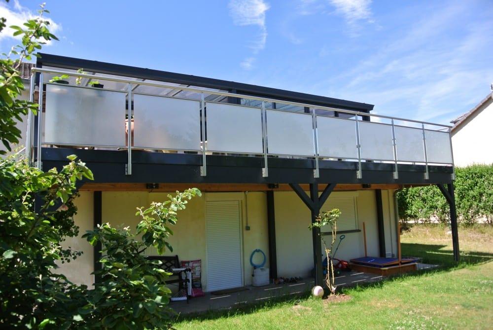 Terrasse Grés Cérame – Suspendue – 45 m2