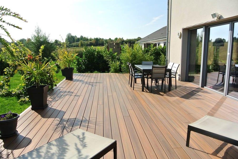 Tecnhome - Terrasse Bois Composite - 57M²