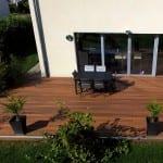 Tecnhome - Terrasse Bois Composite -Kanfen - Moselle - Lorraine - Luxembourg