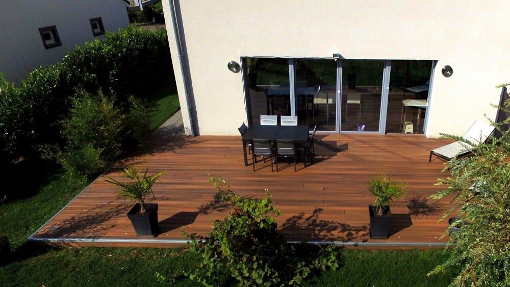 Terrasse Bois Composite – 57m²
