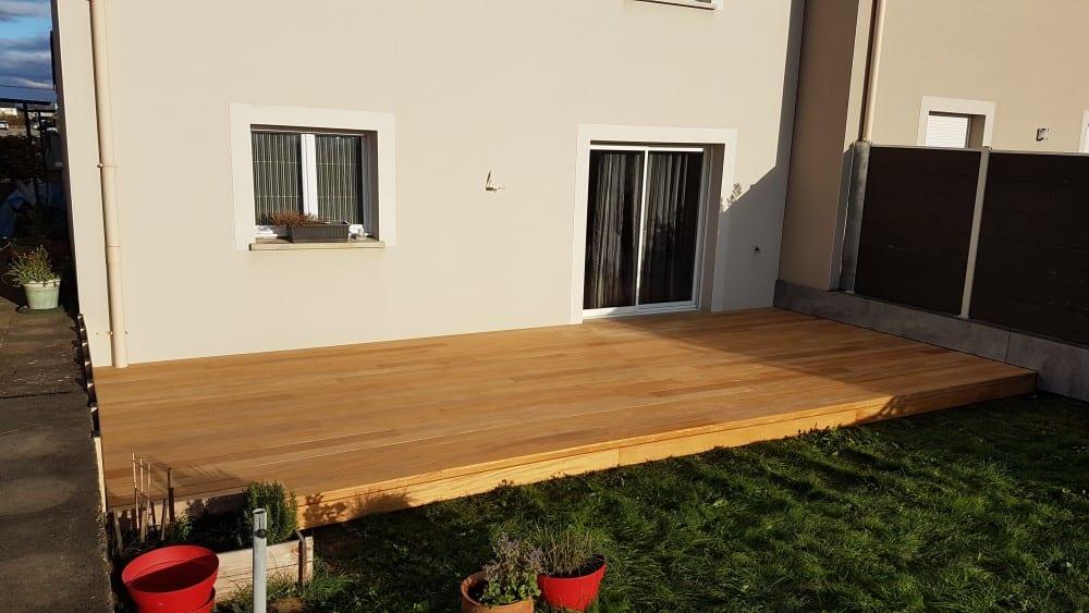 Terrasse Bois Exotique – Garapa – 30 m²