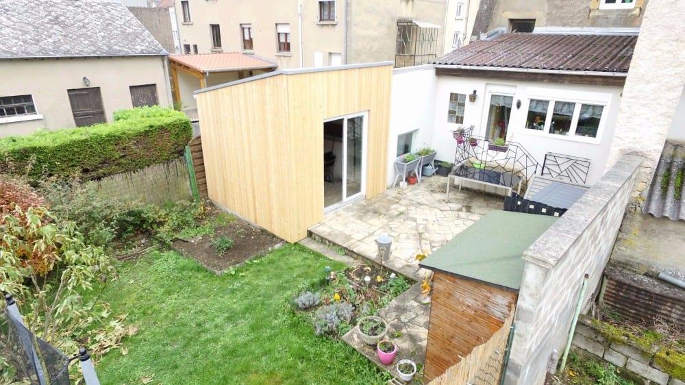 Tecnhome - Extension Ossature bois - 10m² - Volmerange les mines - Moselle - Lorraine