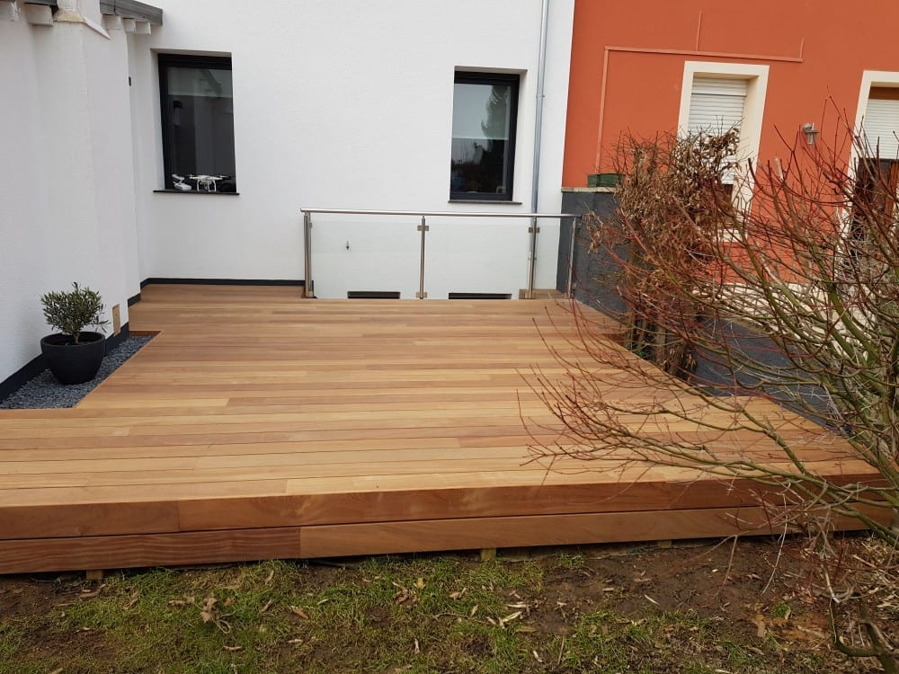 Tecnhome - Terrasse Bois Exotique - Cumaru - 32 m² - Bettembourg - Luxembourg - Moselle - Lorraine