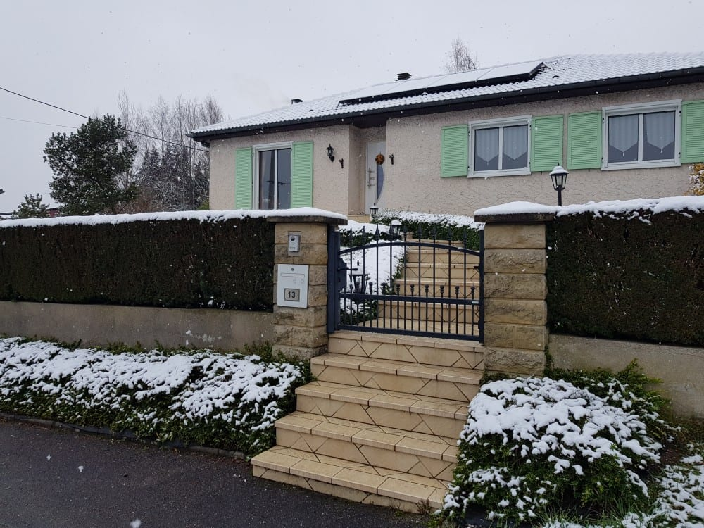 Tecnhome - Terrasse Bois Exotique - Cumaru - 29 m² - Oudrenne - Moselle - Lorraine - Luxembourg