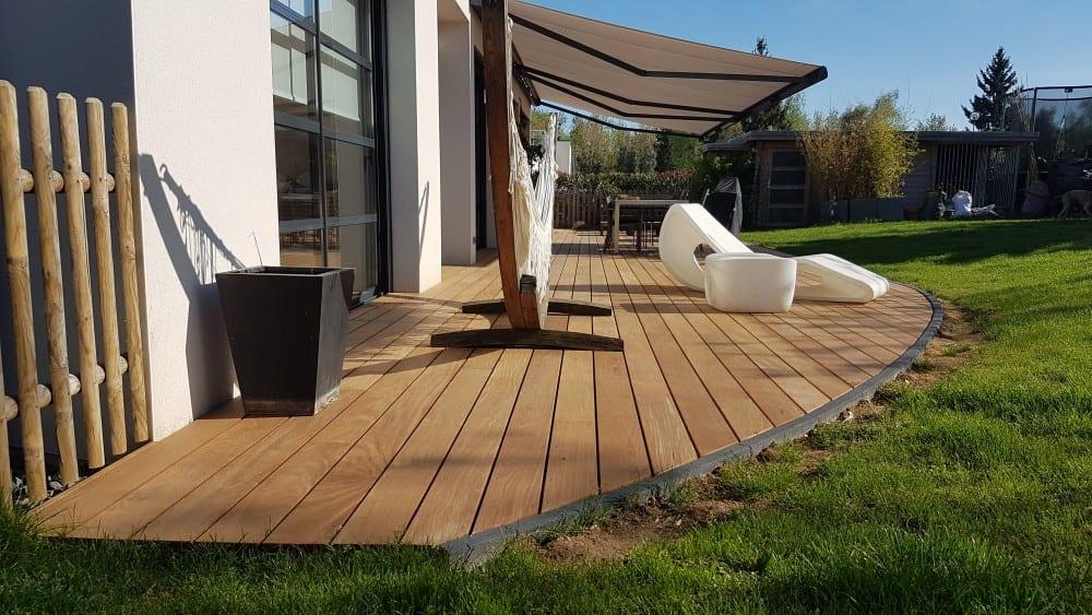 terrasse bois exotique ipe 68m. Black Bedroom Furniture Sets. Home Design Ideas
