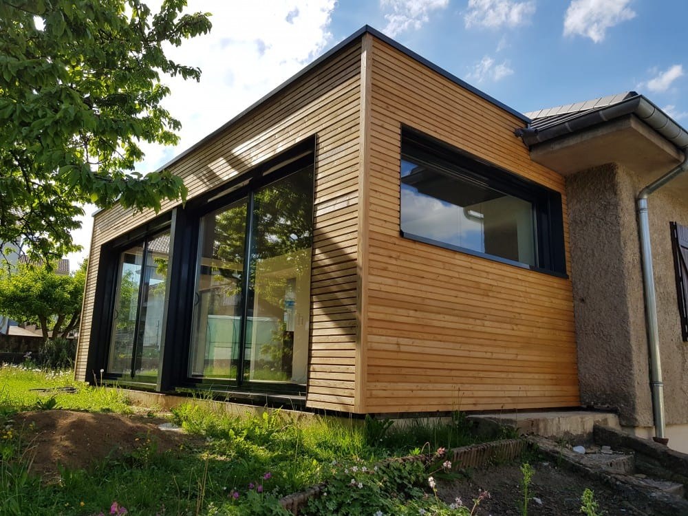Tecnhome - Extension Ossature bois - 22 m² - Terville - Moselle -Lorraine - Luxembourg