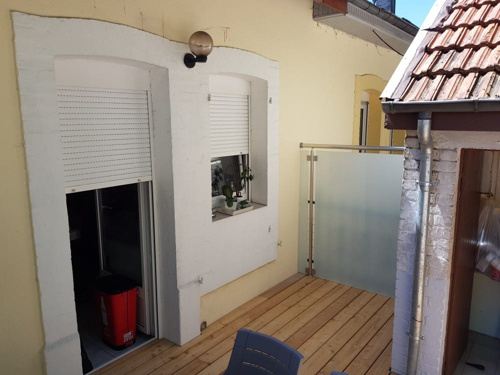 Tecnhome - Terrasse - Bois - Mélèze - 14 m² - Herserange - Metz - Meurthe et moselle - Lorraine
